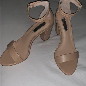 INC ankle strap heels